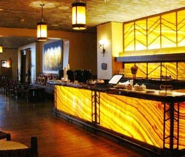 Stone decorated Bar